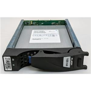 "EMC 005049184 100GB 6Gbp/s 3.5"" SSD Flash Hard Drive V3-VS6F-100 VX-VS6F-100"