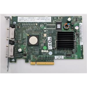 Dell PERC 5/e Dual SAS SATA PCIe Server Controller Card M778G Refurbished