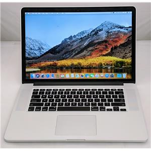 """Apple Macbook Pro MJLQ2LL/A 15"""" i7-4770HQ 2.2GHz 512GB SSD 16GB GRADE D"""