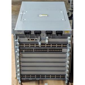 Arista DCS-7508 w/ 1x 7500E-48S-LC 2x 7500E-36Q-LC 1x 7500E-SUP 6x 7500E-FM