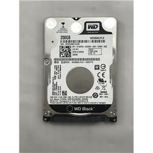 "Western Digital 250GB 7.2K 2.5"" 9.5MM SATA Laptop HDD 1WPC8 WD2500LPLX"