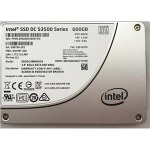 Intel SSD DC S3500 Series 600GB Solid State Drive D2010370 / SSDSC2BB600G4