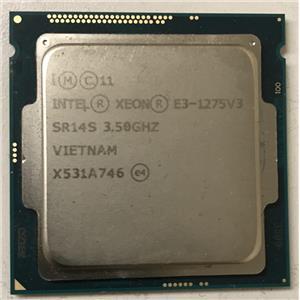 Intel XEON E3-1275 V3 3.5Ghz Quad Core SR14S