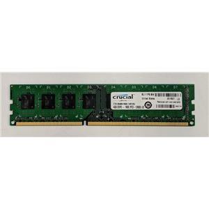 Crucial 4GB PC3-12800 DDR3-1600 non-ECC Unbuffered 1.5V CT51264BA160B.C16FER2