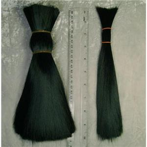 doll hair Black minglon sythetic  1 oz  22268