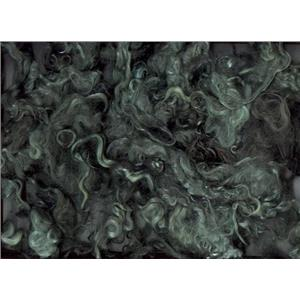 Mohair bulk dyed yearling/ adult Lt. pine green 77-23 10029