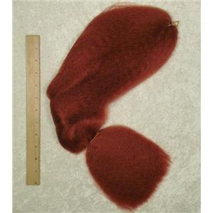doll hair auburn kankalon sythetic  1.5 oz 23038