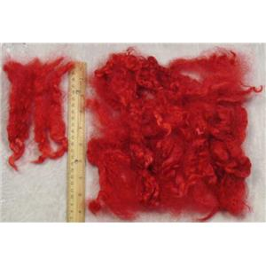 Cotswold wool locks  Salmon red 1oz  23452