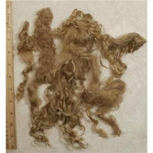 "Suri Alpaca 6-10"" cria dyed Natural Blonde 1 oz 24471"