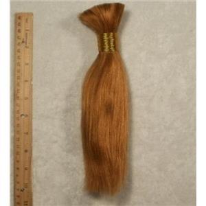 """Goat hair Bulk  Carrot red dk 27  7-10"""" x100g 24746 FP"""
