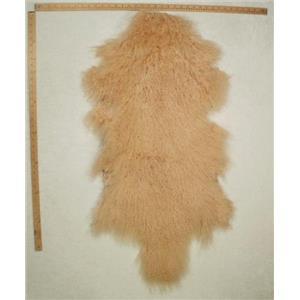 full pelt Peach blonde  Tibetan lambskin 24764