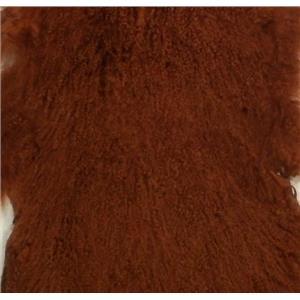full pelt Auburn red A30 Tibetan lambskin 24769