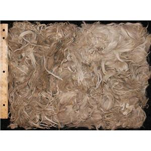 Suri Alpaca wool ,seconds cream and light brown 12.5 oz pack 25086