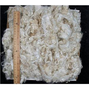 """fine adult mohair curls washed 3-6"""" 1 oz doll wigs,weft or rooting  25281"""