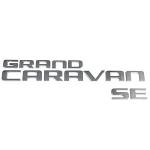 New Dodge Grand Caravan Van SE Back Door Lift Gate Logo Emblem Badge Nameplate