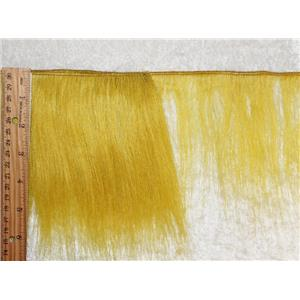 "mohair weft  coarse unglazed ,yellow Gold straight hair 5-7x 45""  25563 QP"