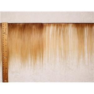 "mohair weft coarse golden blonde 16 straight 7-9"" x 100"" 45-50g  25586 HP"