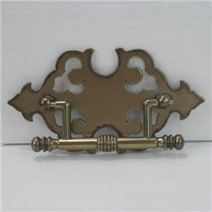 antique brass finish metal drawer pull handle for cabinet furniture b