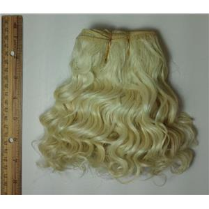 "mohair weft coarse undyed color 60 wavy weft 7-9x200"" 90-100g 25686 FP"