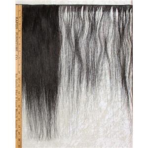"Horse hair weft Natural dark Brown straight 15 to 20"" x108"" 25449 FP"