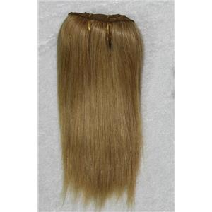 "Golden blonde 16-4 mohair weft coarse straight 6-8 x 200"" 90-100g 26320 FP"