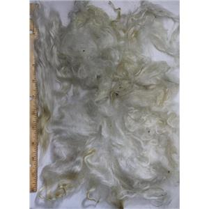 """3"""" -8"""" satiny high luster curly washed fine mohair  1 oz doll hair  26114"""