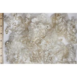 "2-4"" satiny high luster curly washed fine mohair  1 oz doll hair  26148"