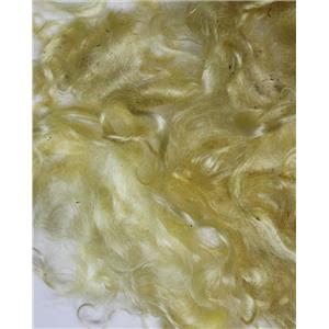 "sunny yellow light  Mohair curls 1 oz  fine adult 3-5"" 26189"