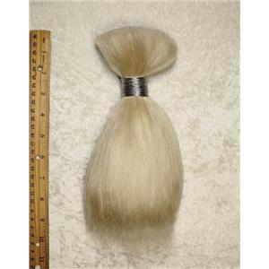 "Yak hair Bulk bleached natural fine theatrical wig - beard 7-8 "" x100 g 25581 FP"