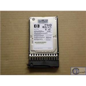 HP 300GB 10K SAS EG0300FAWHV 507119-004 9FK066-085 w/ 507284-001 Tray