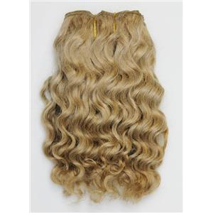 "Blonde 20 wavy mohair weft coarse  6-8"" x200""  26393  FP"