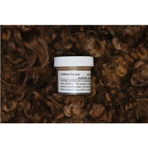 Auburn brown  Wig making dye Jar,will Dye 5 lb mohair