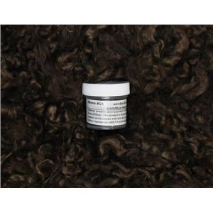 Brown 4GA Wig making dye Jar,to Dye 1 lb mohair