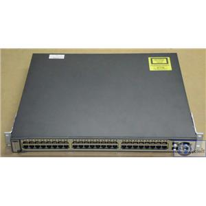 Refurbished Cisco WS-C3750G-48TS-S V04 Tested 48 Port Gigabit Ethernet Switch