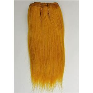 "Carrot 144  straight mohair weft coarse  7-8"" x200""  26444  FP"