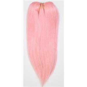 "Pink  straight mohair weft coarse  7-8"" x200""  26459  FP"
