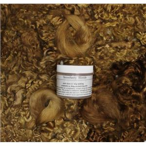 Strawberry Blonde 27-1  Wig making dye Jar,will Dye 1 lb mohair