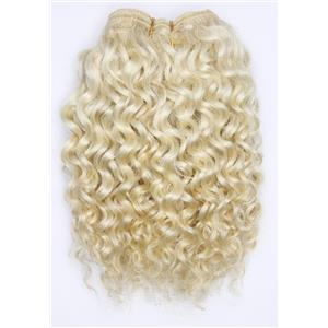 "undyed color 60 Curly  mohair weft coarse 7- 8"" x 50"" 26518 QP"