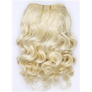 """undyed color 60 wavy mohair weft coarse  6-8"""" x200""""  26510  FP"""