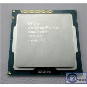 Intel Core i3-3220 Dual Core Socket LGA1155 CPU Processor 3.3GHz 3MB SR0RG