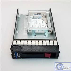 HP Intel 600GB SATA 6Gb/s 739963-001 SSDSC2BB600G4P SSD DC S3500 Series W/ Tray