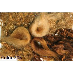 Carrot 206 Wig making dye Jar,will Dye 2 lb mohair