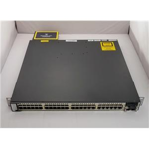 Refurbished Cisco Catalyst WS-C3750E-48PD-SF 48 port 10Gbps Uplink Switch Layer3