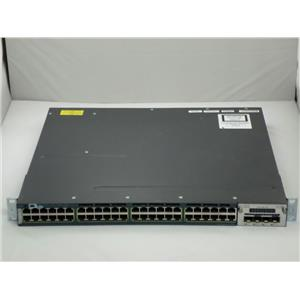Cisco Catalyst WS-C3560X-24P-S 24-Port 1Gbps Switch w/ C3KX-NM-10G 3K-X 10GB SFP