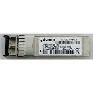 Avago AFBR-703SDZ-NA2 10GB SFP+ NetApp 332-00279R6+A0 850nm Genuine