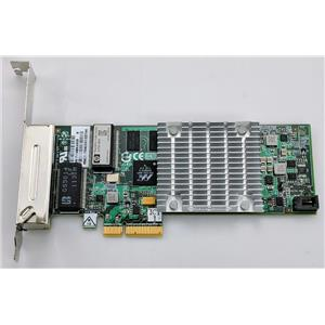 HP NC375T 539931-001 PCIe 4-Port Gigabit Network Internal Card 491176-001
