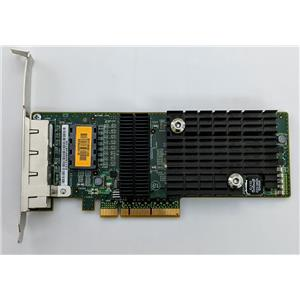Sun Micro ATLS1QGE PCIe Quad Port Network Adapter 501-7606 Tested High Profile