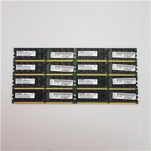 Elpida 32GB Kit (8X4GB) 2RX4 PC2 5300P Server Memory EBE41AE4ACWA-6E-E