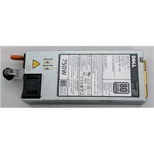 Dell PowerEdge R720 750W Platinum Power Supply 9PXCV Hot Plug