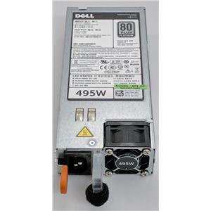 Dell PowerEdge T720 T420 T620 T320 495W Power Supply N24MJ Refurbished